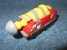 "2013 TOMY CHUGGINGTON TUNNEL BORER 3 1/2"" & PLASTIC & METAL TRAIN ENGINE - NICE"
