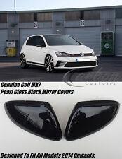 VW Golf Mk7 Perla Calotte Specchietto Nero Lucido Gti GTD Golf R Tutti i Modelli