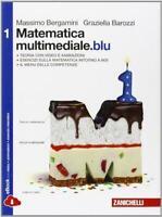 Matematica multimediale.blu vol.1 Bergamini/Trifone ZANICHELLI 9788808199652
