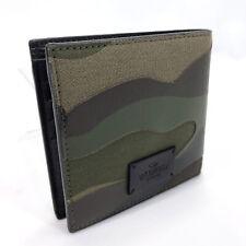 Valentino Garavani wallet leather camouflage mens