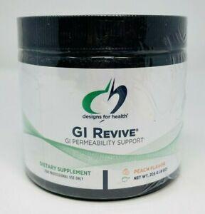 Designs For Health GI Revive Permeability Support 225g (8 oz) Peach EXP 3/2023
