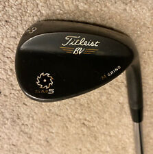 Titleist Vokey SM5 58 Degree Wedge - Right Hand - Regular Steel - Raw Black