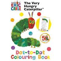 The Very Hungry Caterpillar Punto a Libro para Colorear por Eric Carle Diversión