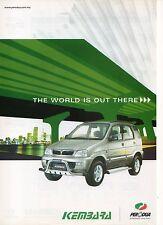 Perodua Kembara SUV (made in Malaysia)_2003 Prospekt / Brochure