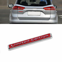 Rot Limited Edition Emblem Metall Auto Aufkleber Tuning Badge Sticker Decal