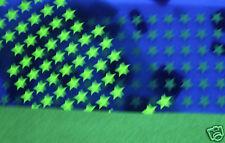 Etoiles phosphorescent lumineuse la nuit FLEX Transfert a chaud Textile 30ex
