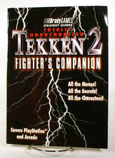 OLD SCHOOL GAMING CHEATS Tekken 2 Fighters Companion