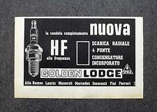H725 - Advertising Pubblicità -1964- GOLDEN LODGE , NUOVA CANDELA