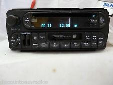 02 03 04 05 06 07 Dodge Chrysler Jeep Radio CD Cassette Player P05064042AC  BF44