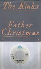THE KINKS  Father Christmas  very rare promo 45 with PicSleeve from 1977