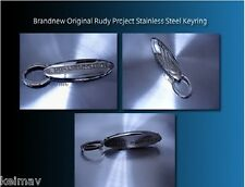 Bnew Orig Rudy Project Stainless Steel Keyring keychain key chain