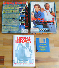 Jeu LETHAL WEAPON L'ARME FATALE BIG BOX version disc (Disk) pour Atari ST