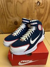 Nike Air Zoom Huarache 2K4 'Olympic' Men's Size 9 Basketball Shoes 308475-400