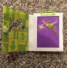 Disney Store Return to Neverland Peter Pan Tinker Bell Storybook Vol 5 Pin Set