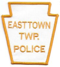 **EASTTOWN TOWNSHIP PENNSYLVANIA POLICE PATCH**