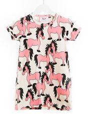 Blaa! Tunika allover Pferde creme pink allover horses 98 104 110 116 122 128 NEU
