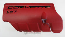 06-13 LS7 Corvette Z06 Fuel Rail Engine Coil Cover LH New GM RED