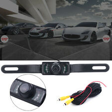 7 LED Car Rear View Reverse Backup Parking Camera Night Vision Waterproof CMOS@W