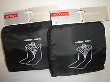 """2 pcs. Embark Suit Garment Sleeve Cover 46"""" Travel Bag Dust Protector """"No Hole"""""""