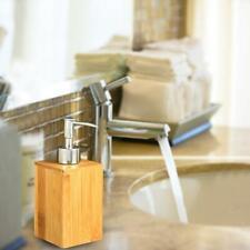 Soap Dispenser Bottles Household Bamboo Bathroom Shampoo Pump Bottle