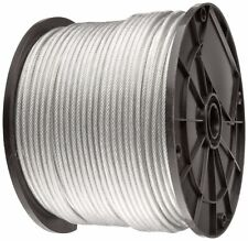 Vinyl Coated Wire Rope Cable 116 332 7x7 50100 200 250 5001000 2500ft