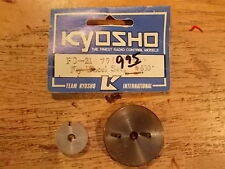 FD-21 Flywheel Set (Rust / Corrosion) - Kyosho Sandmaster Rampage ZR-1 RS200 405
