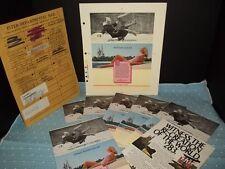 Rare Disney Commercial Advertising Prototype & Supplements 1980's Eastern Arvida