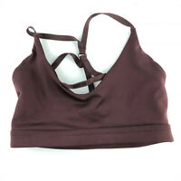 Nike Dri Fit Maroon Indy Light Support JDI Sports Bra Size XS 928891-652 Z18