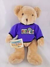 """Animal Alley Bear Tan Plush 16"""" Times Square NY Sweater"""