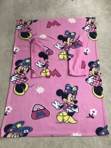 Minnie Mouse Fleece Sleeved Blanket