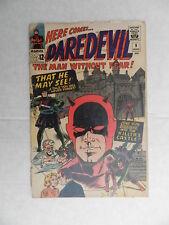 DAREDEVIL #9 Poor Marvel 1964