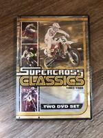 Supercross Classics 1983-1989 (DVD, 2-Disc Set, 2009) *NEW/SEALED!*