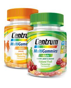 Centrum Multi Gummies Adult Lozenges  Zinc, Vitamin A, B6, B12,D,E & C.+ Iodine