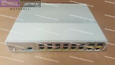 Cisco WS-C3560C-12PC-S SWITCH POE + iOS 15.2 3560C-12PC-S
