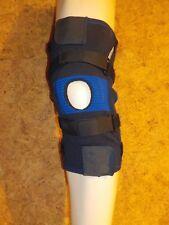 genouillère rotulienne - orthèse  GIBAUD Genugib Stab bleue en L