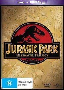 Jurassic Park Ultimate Trilogy DVD box set The lost world 1 2 3 I II III R4 + UV