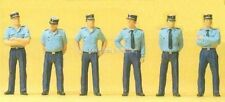 H0 Preiser 25108 police en uniforme de l' été. Figurine emballage d'origine
