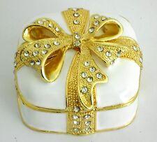 Jewelry box / Enamel box/Favor,wedding,engagement,sweet 16,bridal shower