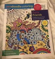 Zendoodle Coloring: Furry Friends by Deborah Muller (English) Paperback