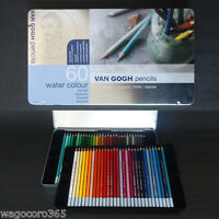 VAN GOGH Pencils Water Color 60 colors set Aquarelle Aquqrel Royal Talens