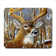New Wildlife Artwork Crowning Glory Buck Deer mouse pad Mouspad Free Shipping