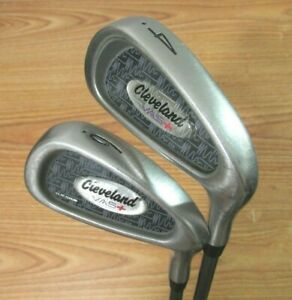 CLEVELAND VAS+ 4 & 6 IRONS FLEXIBLE 80 MPH AND BELOW GRAPHITE SHAFTS