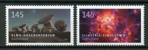 Germany 2018 MNH Astrophysics Alma Observatorium 2v Set Space Science Stamps