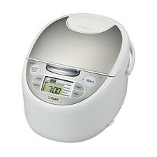 Japan Tiger Computerize 3 in 1 Rice Cooker Steam Slow cooker 5.5 cup JAX-S10A