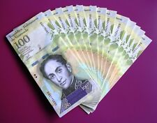 Venezuela 100.000 Bolivar Bundle 100 Consecutive notes 2017 P-New UNC B62175201
