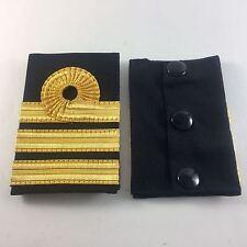 Embossed Rank Slide, RN, Royal Navy Commander, Army, Military, no-865