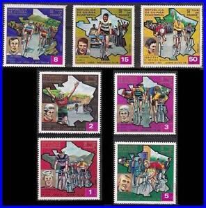 GUINEA 1973 TOUR de FRANCE - CYCLING SPORTS complete SET MNH (3ALL)
