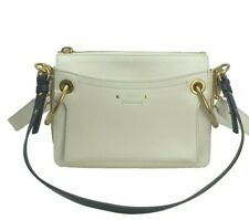 New with tag $1850 CHLOE ROY Bag. Natural. Hand bag. Crossbody Bag. Authentic