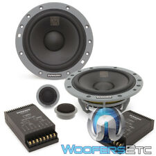 "DYNAUDIO ESOTAN 232 6.5"" COMPONENT SPEAKERS TWEETERS CROSSOVERS CAR AUDIO NEW"