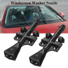 2x Front Windscreen Washer Jet Nozzle Water Spray For Vauxhall Merica 2003-2010